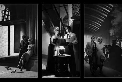 Celebrity Noir Triptych