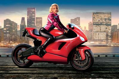 Marilyn's Red Ride - Norma Jean
