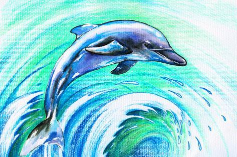 Dolphin' Prints - DannyWilde AllPosters.com