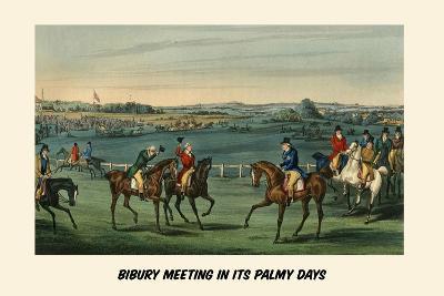 Bibury Meeting in its Palmy Days
