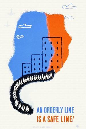 An Orderly Line Is a Safe Line