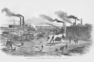 Construction of the Upper Batteries at St. Louis