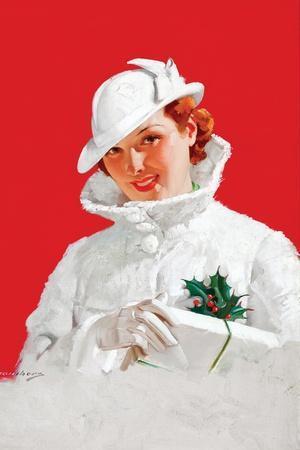 Christmas Glamour Girl