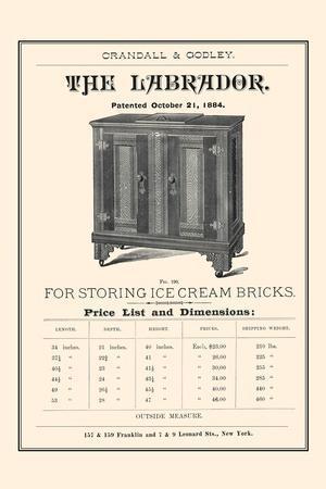 Labrador - for Ice Cream Bricks
