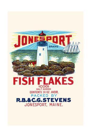 Jonesport Fish Flakes