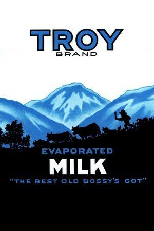 Troy Brand Evaporated Milk
