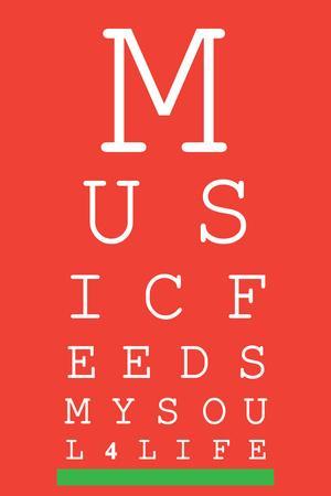 Music 4 Life Eye Chart 1
