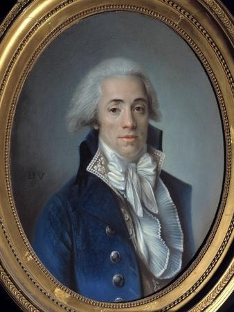 Portrait of Bertrand Barere De Vieuzac
