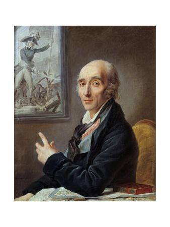 Portrait of Pierre Augereau - by Johannet Heinsius