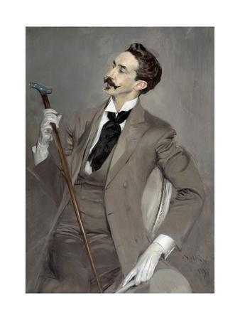 Portrait of Count Robert of Montesquiou by Giovanni Boldini