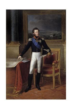 Portrait of Louis Antoine D'artois, Duke of Angouleme by Francois Joseph Kinson