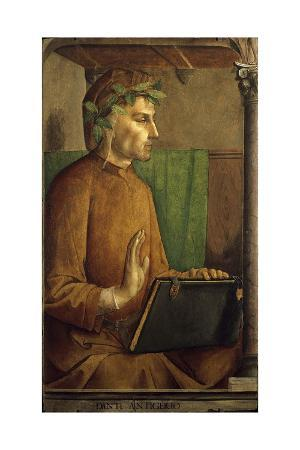 Portrait of Dante Alighieri by Juste De Gand