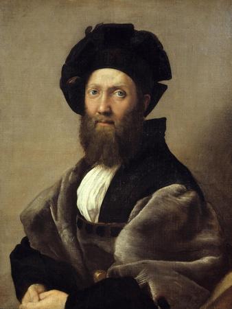 Portrait of Baldassare Castiglione by Raphael