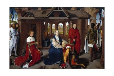 Triptych of the Adoration of the Magi, Central Panel by Hans Memling