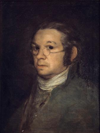 Self Portrait by Francisco De Goya Y Lucientes