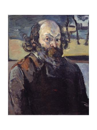 Self-Portrait - by Paul Cezanne