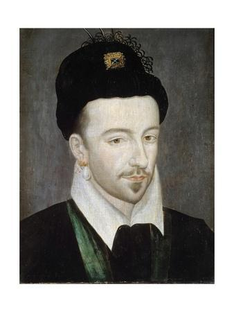 Portrait of King Henri III - Attributed to Jean Ducourt