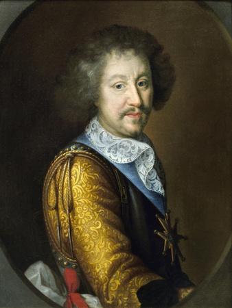 Portrait of Francois II D'espinay, Marquis De Saint Luc by Louis Ferdinand Elle the Elder