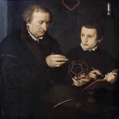 Portrait of Johann Neudorfer the Elder and His Son