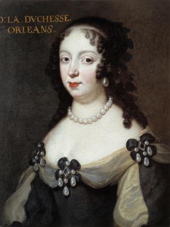 Portrait of Elizabeth Charlotte, Princess Palatine