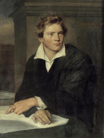 Portrait of Karl Berckmuller by Franz Xaver Winterhalter