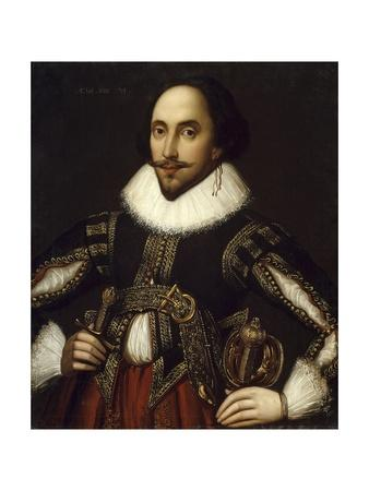 Portrait of William Shakespeare - by Louis Coblitz