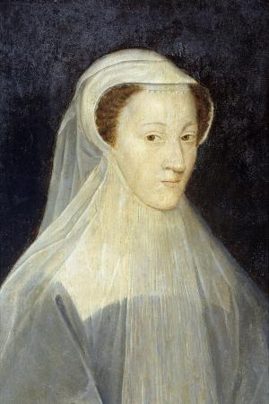 Portrait of Mary Stuart by the Studio of Francois Clouet