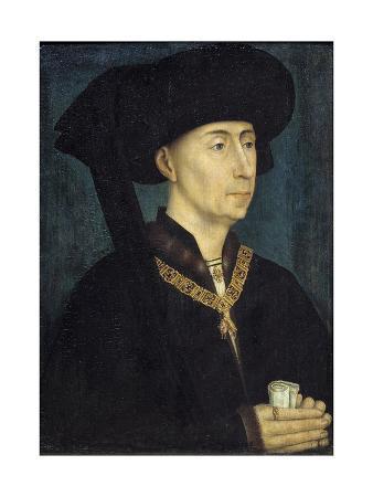Portrait of Philip III of Burgundy Called Philip the Good, by Van Der Weyden
