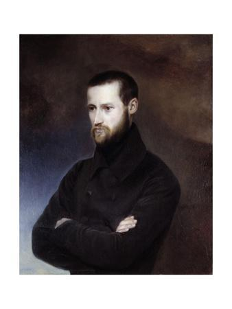 Portrait of Louis-Auguste Blanqui - by Amelie Serre