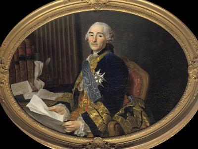 Portrait of Cesar-Gabriel Count of Choiseul-Chevigny by Alexandre Roslin