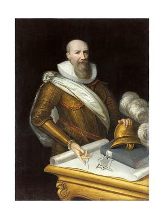 Portrait of the First Duke of Sully, Maximilien De Bethune by Frans Pourbus the Younger