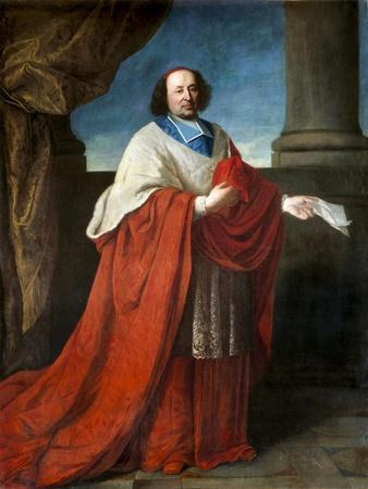Portrait of Cardinal De Cambout De Coislin