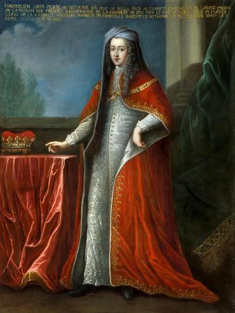 Portrait of Louis Pierre Maximilien De Bethune