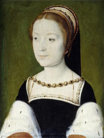 Portrait of Madeleine De France by Corneille De Lyon