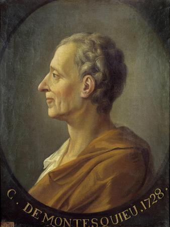 Portrait of the Philosopher Montesquieu after Jacques Antoine Dassiers