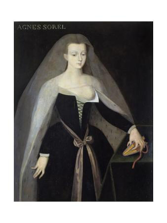 Portrait of Agnes Sorel after Jean Fouquet