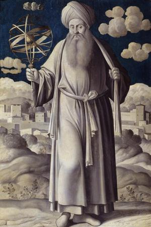 Portrait of Ptolemy by Girolamo Mocetto