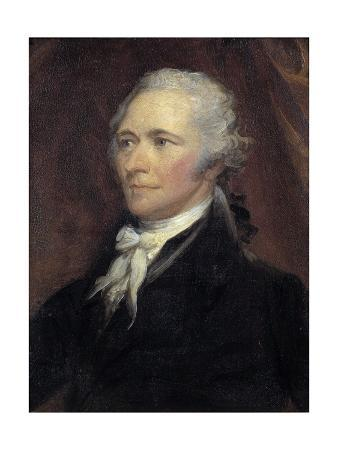 Portrait of Alexander Hamilton by George Healy