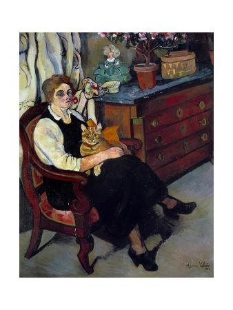 Portrait of Miss Lily Walton by Suzanne Valadon, 1922