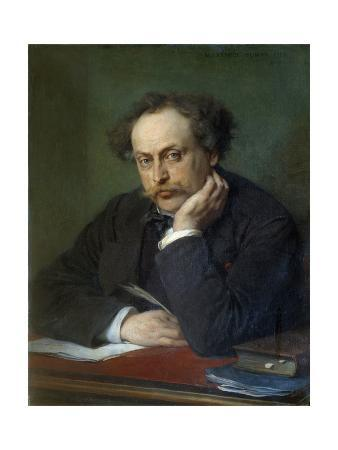 Portrait of Alexandre Dumas, Fils