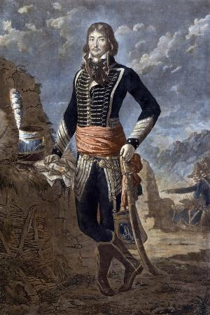 Portrait of the General Marceau after a Painting by Antoine Louis Francois Sergent