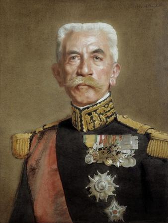 Portrait of Louis Hubert Gonzalve Lyautey by Marcel Andre Baschet