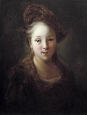Portrait of a Young Girl by Alexis Grimou