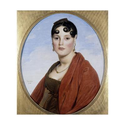 Portrait of Madame Aymon Called La Belle Zelie by Jean Auguste Dominique Ingres