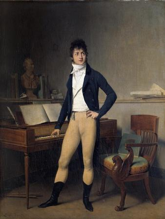 Portrait of Francois Adrien Boieldieu by Louis Leopold Boilly