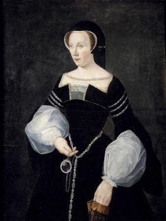 Portrait of Diane De Poitiers in Mourning Dress