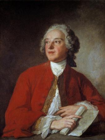 Portrait of Pierre Augustin Caron De Beaumarchais - after J.M. Nattier