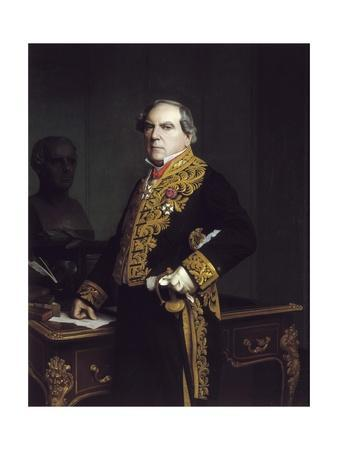 Portrait of Amedee Thierry by Jean Leon Gerome