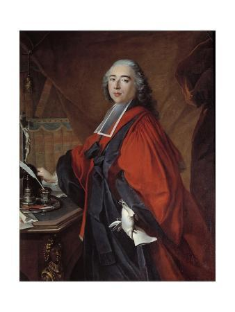 Portrait of a Magistrate by Louis Tocque