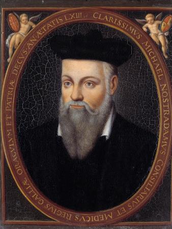 Portrait of Nostradamus